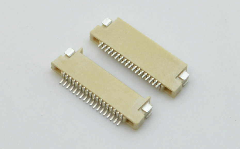 FFC/FPC0.5MM间距H1.5双面接上下接连接器