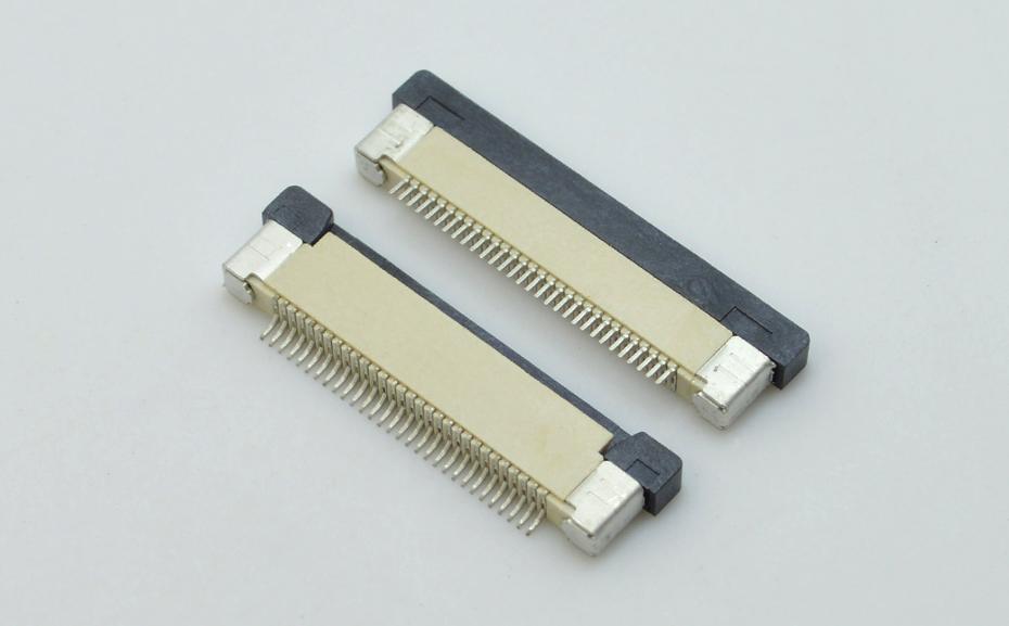 fpc连接器抽屉式-fpc连接器6p-上接fpc连接器-宏利