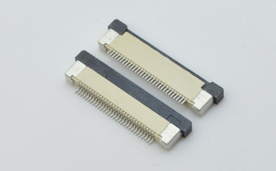 麦拉贴连接器 fpc-0.5mm fpc 连接器fpc连接器 抽屉-宏利