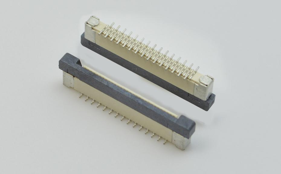 fpc 板对板连接器-5p fpc连接器-fpc 反相连接器-宏利