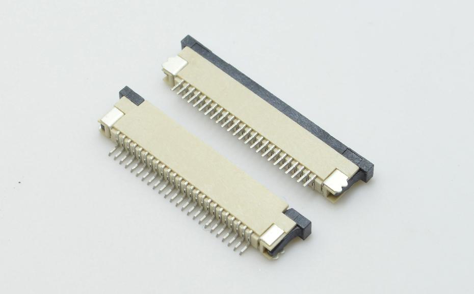 FPC连接器0.8间距上接fpc连接器-专业FPC连接器零售批发-宏利