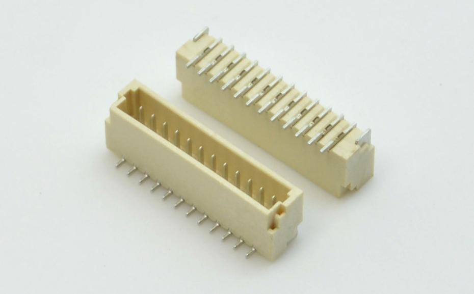 1.0mm间距SH1.0A立贴 封装规格书图纸 型号尺寸图 在线下载