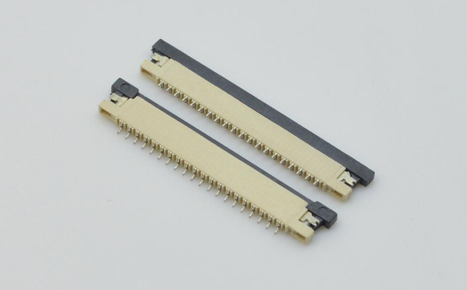 fpc连接器1.0-fpc连接器 上接-正品FPC连接器零售批发-宏利