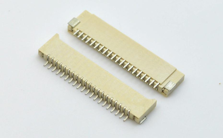 广州fpc连接器价格-fpc ffc连接器 1.0双面fpc连接器-宏利