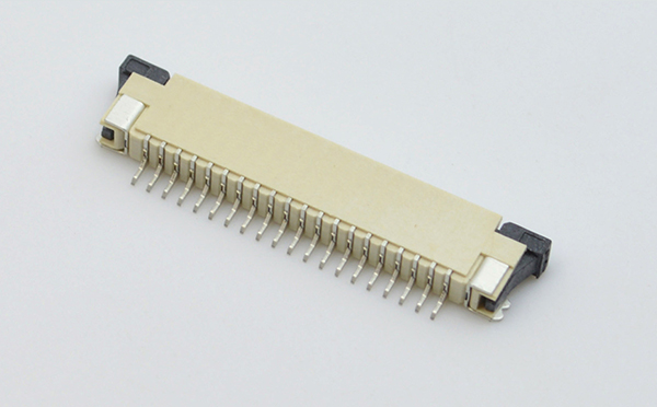 深圳ffc fpc连接器制造厂家-fpc连接器1mm-上接fpc连接器-宏利