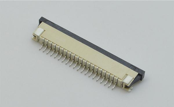 fpc连接器1.0fpc连接器下接-昆山FPC FFC连接器电子厂-宏利