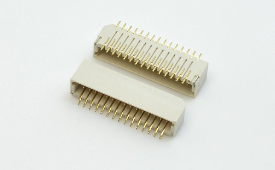 合肥宏利 端子线束连接器 线对板WTB双排插拔式1.0间距H4.0高插座