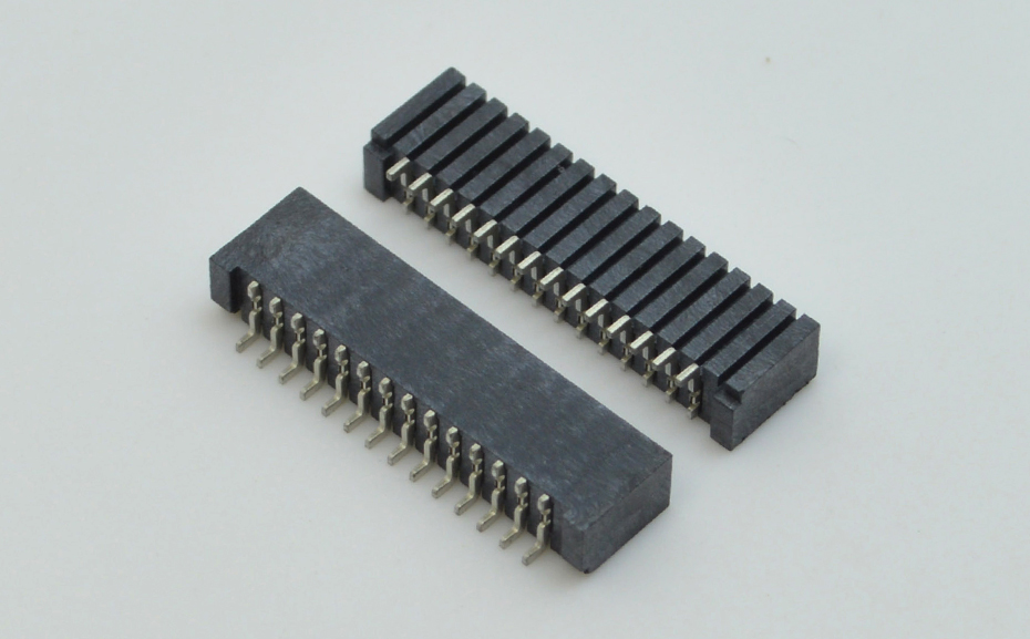连接器fpc排线板-1.25间距fpc连接器fpc双面接触连接器-宏利