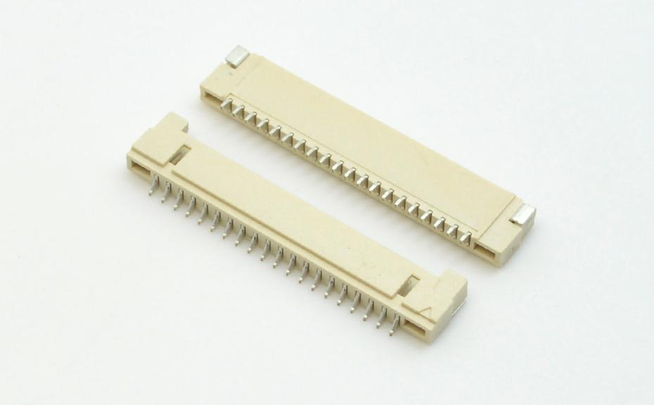 深圳宏利 1.25间距DF14卧式接口插座 专业生产线对板连接器