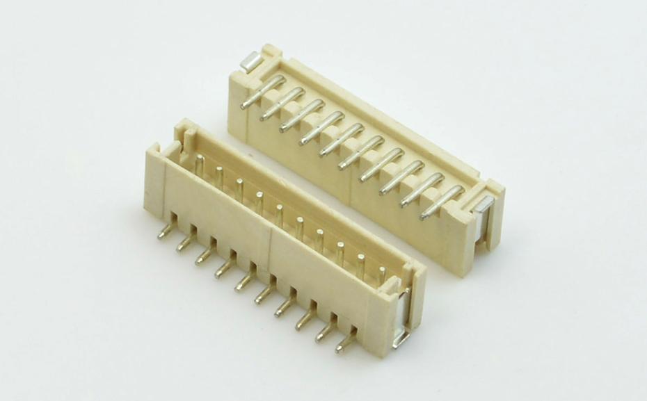 宏利珠海 ZH1.5mm间距立式贴片连接器插座 模组电池连接器厂家直销