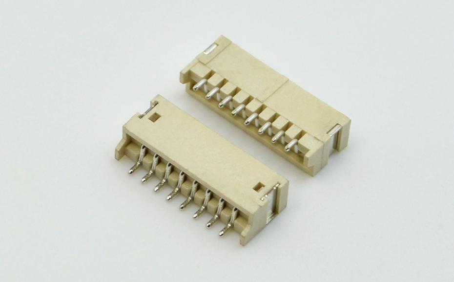 深圳宏利 便携投影仪连接器ZH1.5mm间距 线对板 卧式贴片插座