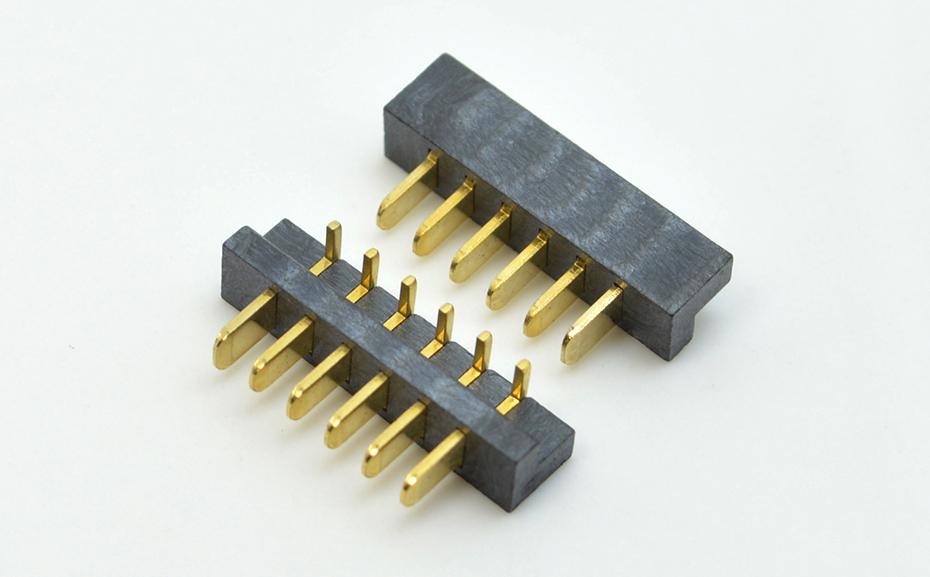 宏利东莞电池连接器2.5mm间距公座大胶芯 无人机连接器生产厂家