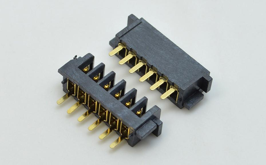 宏利东莞电池液插座晶显示器屏幕2.5间距连接器母座军用级制造商