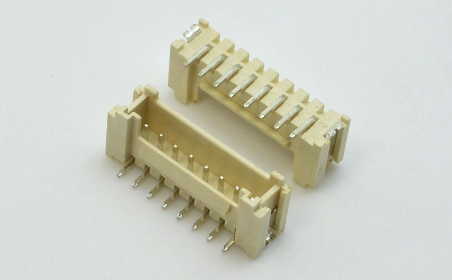 宏利中山筒灯电脑摇头灯HY2.0mm间距条型立贴照明灯具带锁扣连接器插座