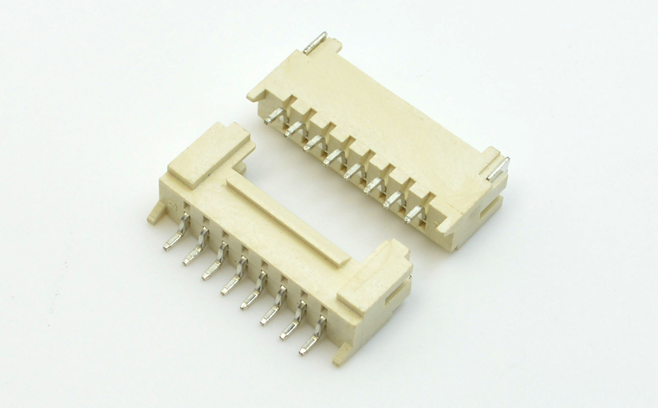 宏利台湾蓝牙音响音频贴片HY2.0间距线对板卧贴带锁扣连接器制造生产工厂