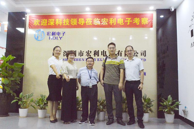 FPC连接器生产厂家合作深科技-深圳长城开发科技审厂-宏利连接器