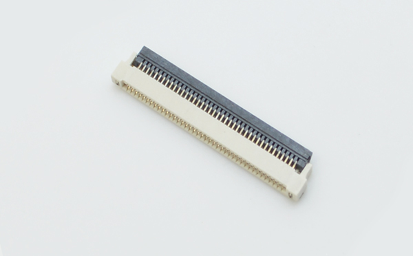 FPC/FFC0.5间距H1.5上下接翻盖连接器