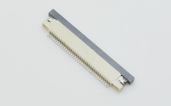 厂家直销0.5mm间距抽屉式下接H1.2mm接插件连接器