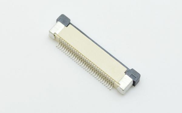 环保认证ffc/fpc0.5mm间距抽屉式下接接插件连接器