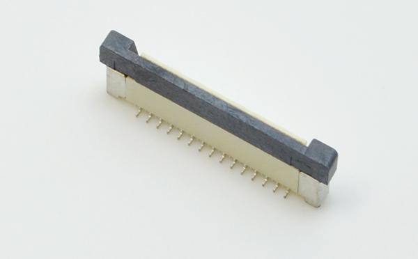 fpc印刷线路板 连接器-0.5mm fpc连接器立贴fpc连接器-宏利