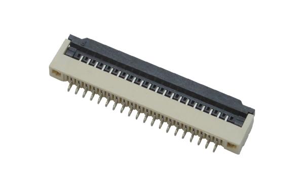 1.0fpc连接器fpc翻盖连接器-正品FPC连接器零售批发-宏利