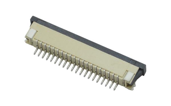 FPC/FFC1.0mmH2.5抽拉式下接连接器