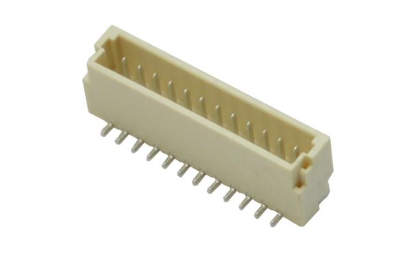间距1.0MM立式贴片耐高温接插件插座连接器