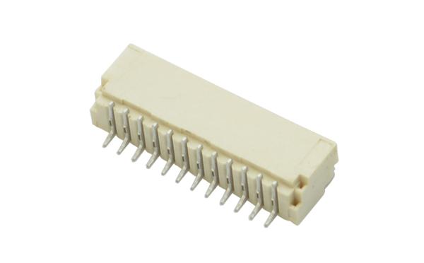 间距1.0mm卧式贴片pcb板插座连接器