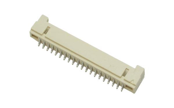 1.25mm间距DF14卧式贴片插座耐高温高压连接器