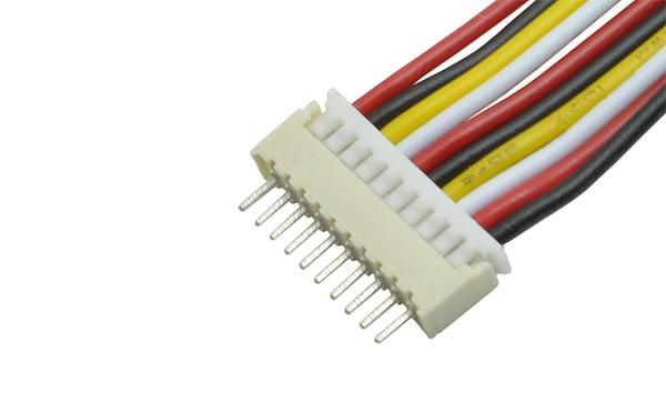 180度针座立式1.25mm间距直针接插件连接器