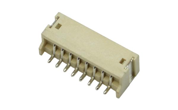 ZH1.5mm卧贴SMT型卧式贴片连接器环保耐高温插座