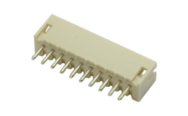 1.5MM间距直针插座拔插式端子高温料连接器插件