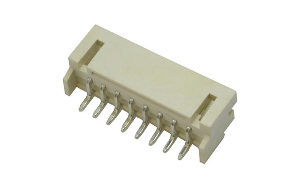 PH2.0mm间距卧贴SMT型卧式贴片插座连接器