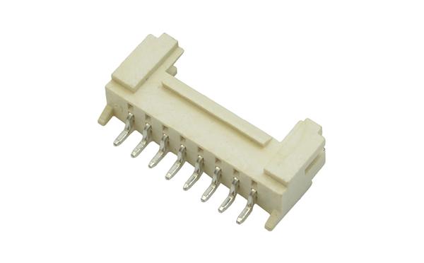 间距HY2.0mm卧贴带锁贴片插座连接器接插件厂家