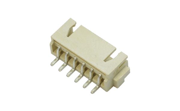 XH2.5卧式贴片耐高温环保插座PCB板插头连接器