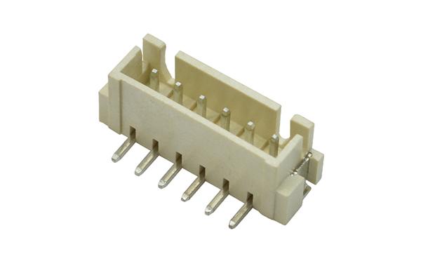 XH2.54mm间距立贴插座接线端子连接器