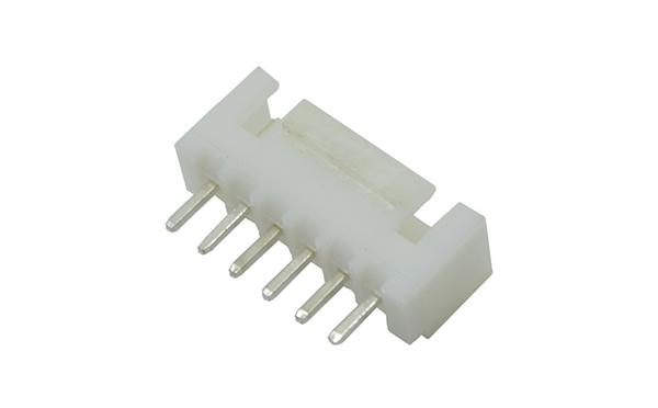 XHB2.5mm直针带扣插座接插件连接器带钩防脱