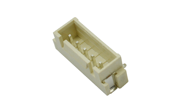 XHB2.5间距立式贴片带扣座单排SMT贴片连接器