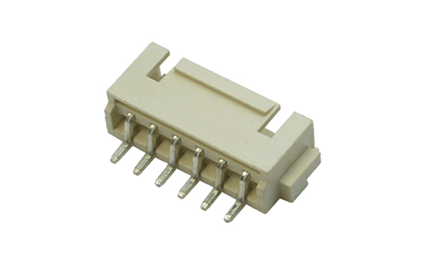 XHB2.5mm卧贴带扣接插件连接器插座