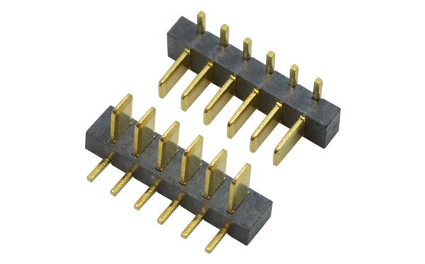 镀金笔记本电池座公座小芯直插式2.5MM间距