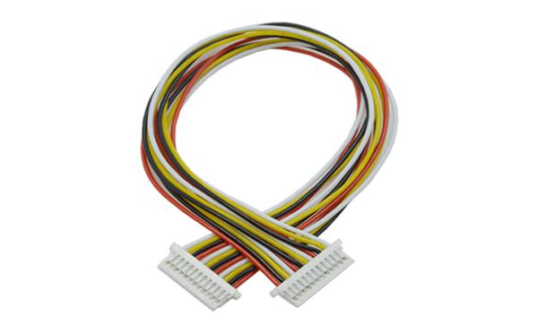 厂家加工生产间距1.0MM-13P 长度15CM双头大电流汽车排线连接线,宏利