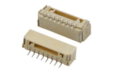 1.25mm间距GH卧式带扣连接器