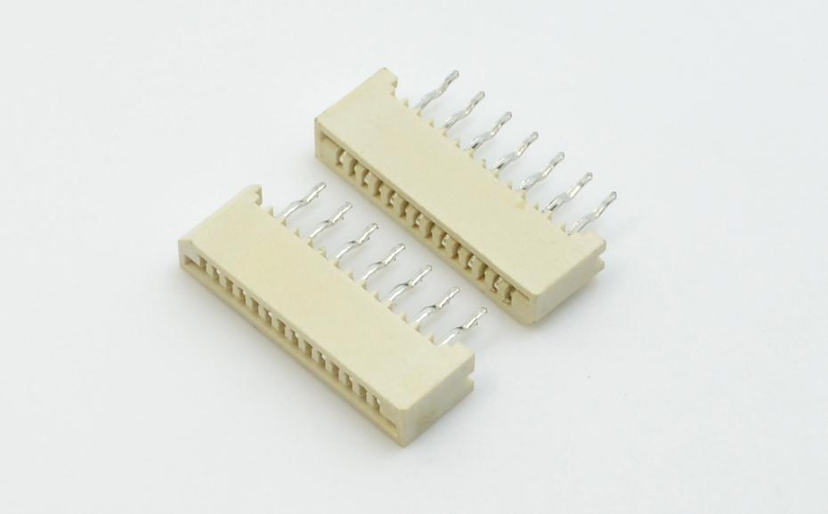 高品质fpc连接器-fpc ffc连接器 1.0fpc连接器 直插-宏利