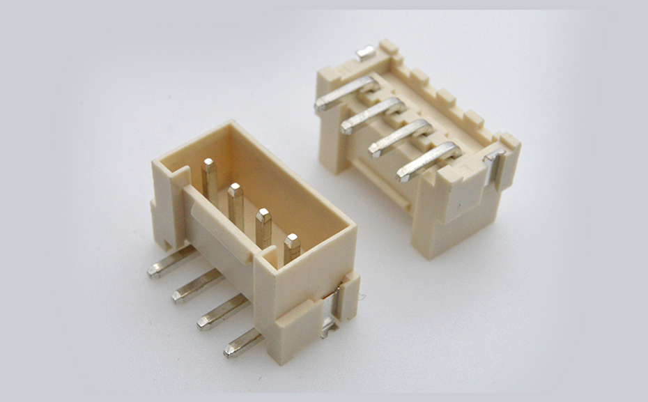 VH3.96mm间距 线对板 立贴带扣 封装规格书图纸 型号尺寸图 在线下载
