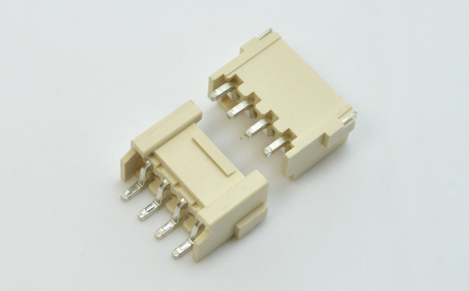 VH3.96mm间距线对板 卧贴带扣 封装规格书图纸 型号尺寸图 在线下载