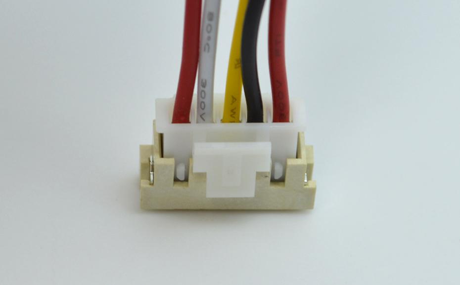 宏利昆山车载蓝牙音响XHB2.54间距防脱带锁扣立式贴片连接器生产厂家