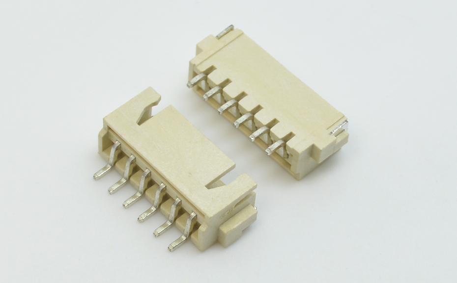 深圳宏利指纹锁芯片摄像头模组XH2.54mm间距卧式贴片插件接口连接器